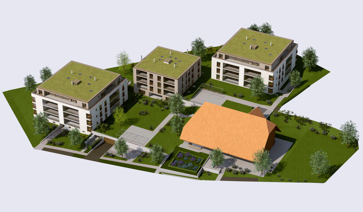 Zollikofen – Auf dem Hof: Architektur