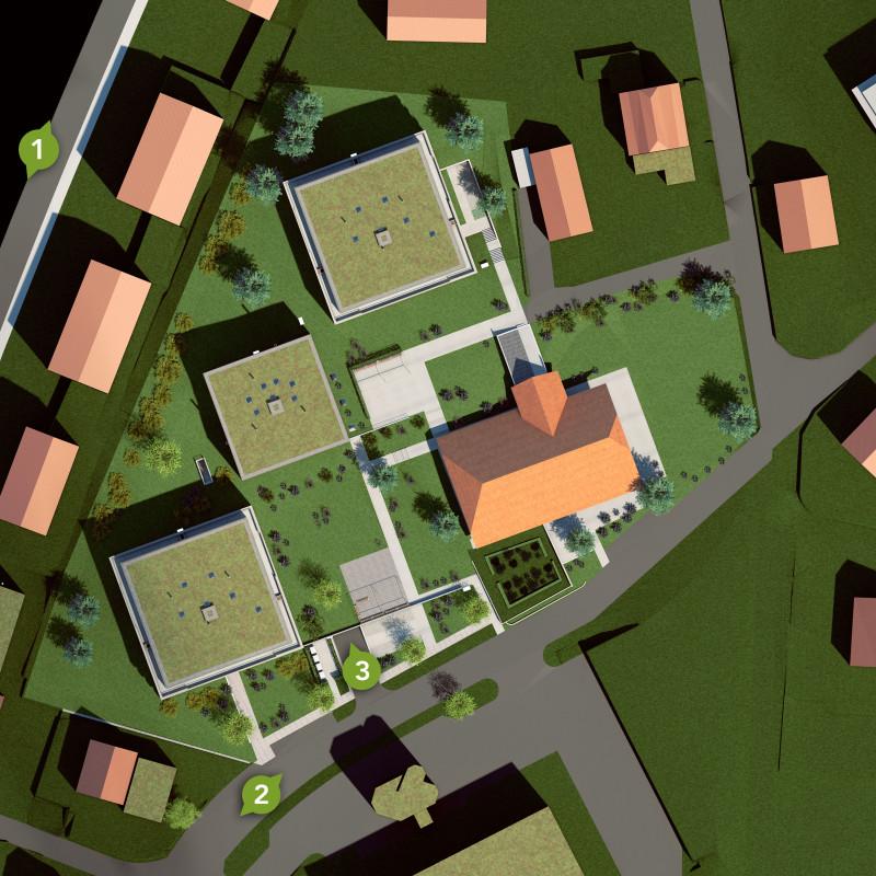 Zollikofen – Auf dem Hof: Wohnkonzept