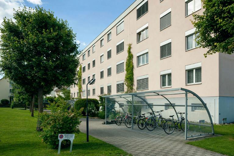 Belp – Würbel: Aussenansicht Miet- und Eigentumswohnungen, Hühnerhubelstrasse 39/41 | Zürcher Immobilien, Galli + Siegenthaler Bauplanungen AG