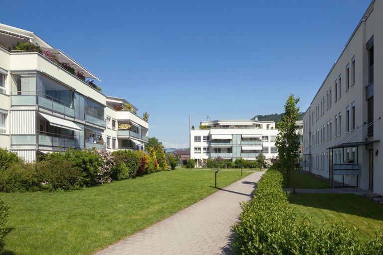 Belp – Scheuermatt III: Miet- und Eigentumswohnungen, Birkenweg 29/31, Sägestrasse 37/39, Kastanienweg 2/4 | Zürcher Immobilien, Galli + Siegenthaler Bauplanungen AG