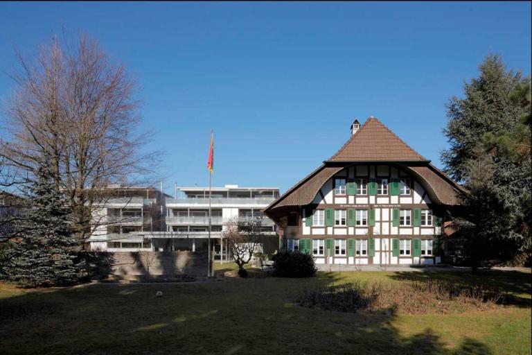Belp – Sonnenhof: Aussenansicht Mietwohnungen Block A und B, Käsereistrasse 3/5 | Zürcher Immobilien, GHZ Architekten AG