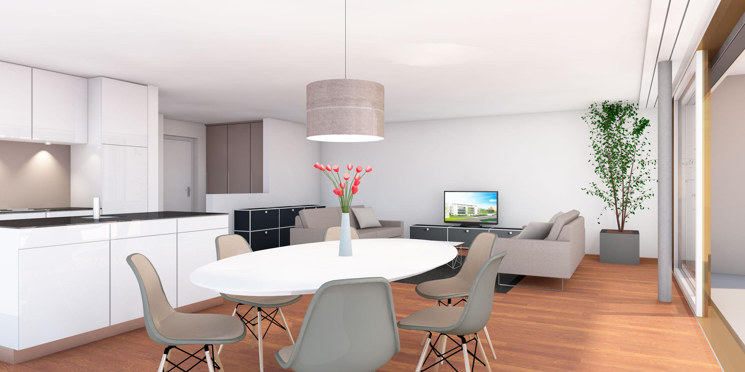 Zollikofen – Auf dem Hof | Zürcher Immobilien, GHZ Architekten AG