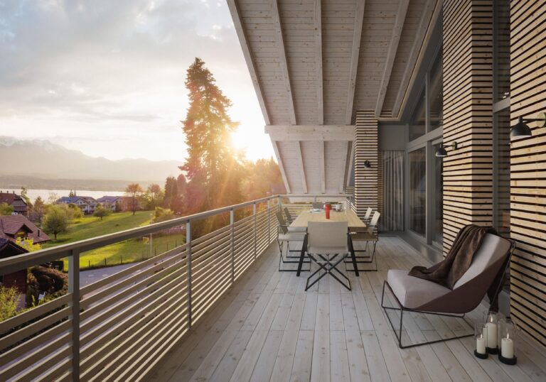 Visualisierung Paradiso Balkon