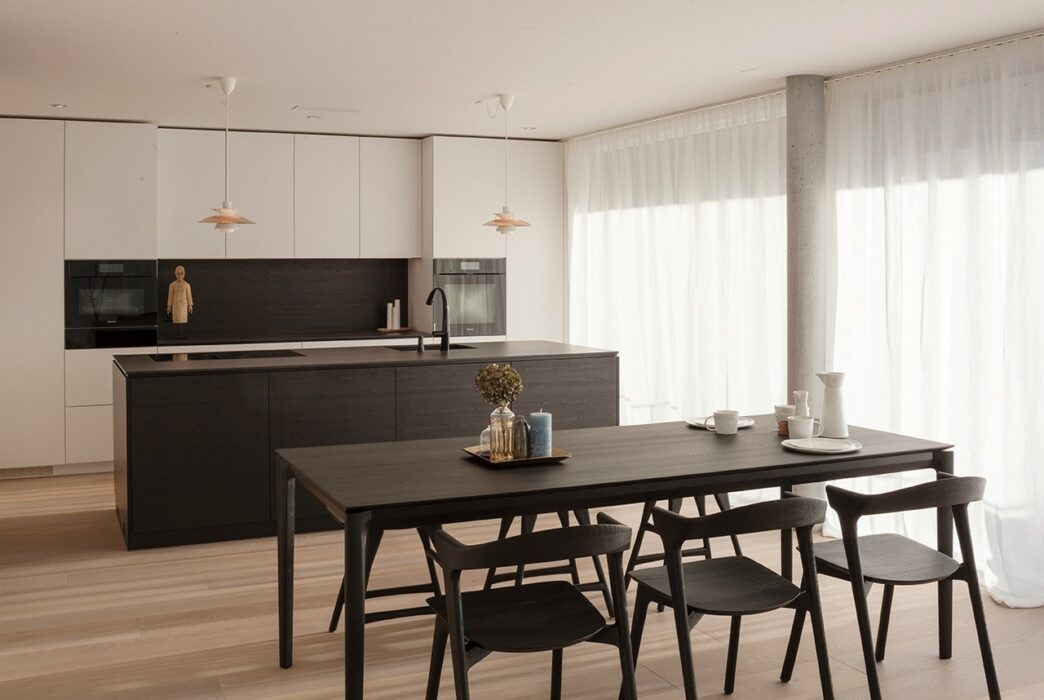 Küche Lyss Mietwohnung